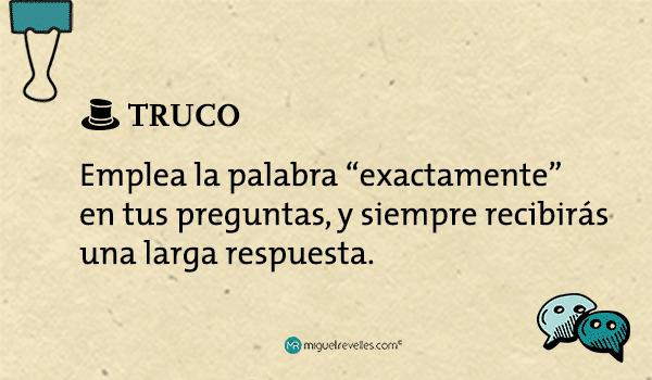 Método AIDA TRUCO exactamente - Miguel Revelles ©