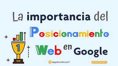 La Importancia del Posicionamiento Digital en Google - Blog de SEO de Miguel Revelles ©
