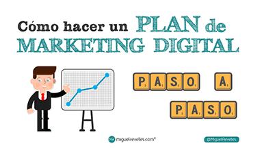 Cómo hacer un Plan de Marketing Online paso a paso en 2019 - Miguel Revelles ©