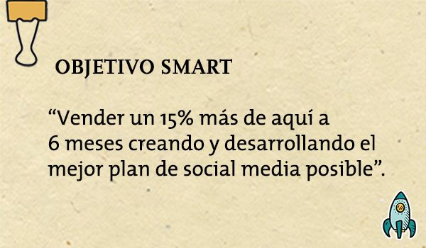 Ejemplo Objetivo SMART para un Plan de Social Media