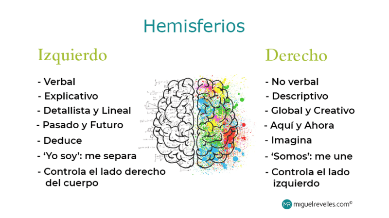 Cómo ser más creativo - Hemisferios